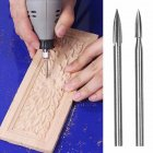 Wood Carving Machine Crafts Woodworking Art Electric Tool Silver 5-piece set (handle 3mm)