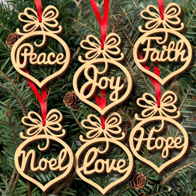 Wooden Christmas Decoration