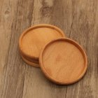 Wooden Tea Coasters Cup Holder Mat Pads