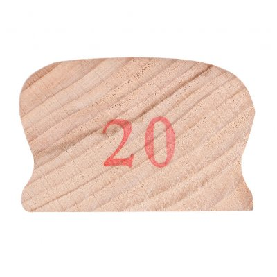 Wooden Polished Block for Guitar Bass Fret Leveling Fingerboard Luthier Tool + 2 Sandpaper 20#