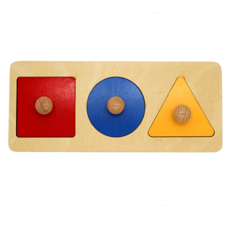 Wholesale Wooden Puzzle Geometry Hand Grab Board Early ...