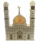 Wooden Ramadan Countdown Calendar DIY Crafts Pendants Eid Mubarak Accessories Ramadan