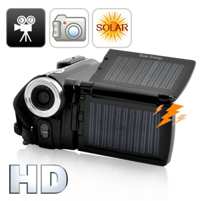Solar Digital Camcorder