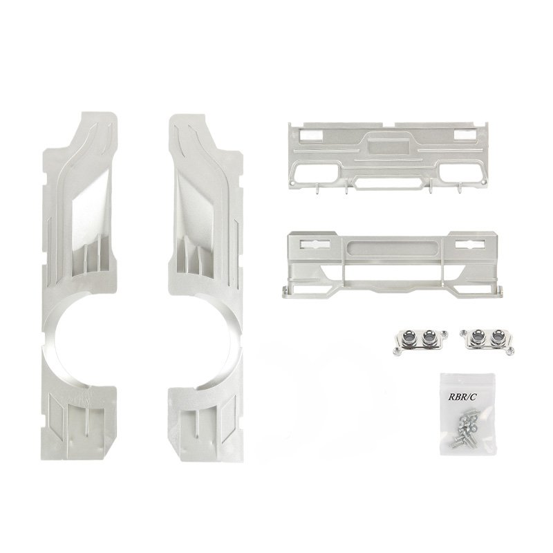 Wpl D12 Refit Upgrade &high Railing Accessories For Drift Rc Car R487 Diy Upgrade Model Spare Parts r487s d12 silver Wide Surround