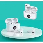 X18 Wireless Bluetooth  Earphones Noise Reduction Tws Sports Earphones For Iphone white