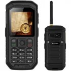 X6 Walkie Talkie Rugged phone Black