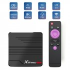 X88 PRO Mini TV Box Android 9.0 Amlogic S905X3 4K 60fps Google Player Media Player 2GB 16GB 4GB 32GB Set Top Box British Plug