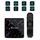 X88 PRO TV Box for Android 9.0 System RK3368 Octa-Core Chipset 4GB DDR3 SDRAM+128GB/64GB/32GB Flash 4K HD Set Top Box US Plug