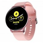 X9 <span style='color:#F7840C'>Smart</span> Bracelet IPS Color Screen Heart Rate Blood Pressure Sleep Monitoring Exercise Bracelet Fitness Tracker <span style='color:#F7840C'>Smart</span> Wrist <span style='color:#F7840C'>Watch</span> Pink