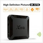 X96Q Smart Tv Box Android 10.0 Set-Top Box Digital TV Converter U.S. regulations