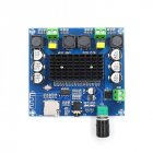 XH-A105 Bluetooth 5.0 TDA7498 Digital Amplifier Board 2x100W Stereo Audio AMP Module Support TF Card AUX board