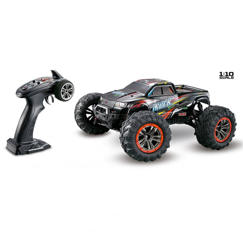 XINLEHONG TOYS RC Car 9125 2.4G 1:10 1/10 Scale Racing Cars Car Supersonic Monster Truck Off-Road Vehicle Buggy Electronic Toy red
