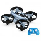XK Q808 2.4G 6-Axis Gyro Mini Ducted Drone Altitude Hold 360° Flip Headless Mode RC Quadcopter for Beginner RTF blue