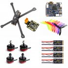 XL5 232mm FVT LITTLEBEE BLlheli-s 30A RS2205 2300KV F3 ACRO Flight Controller  Carbon Fiber DIY FPV Raicng Frame kit RC Drone default