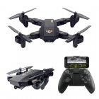 XS809W Foldable Drone comes packed with a 2MP Camera  It features 100m flight distance  different flight speeds  and headless flying mode