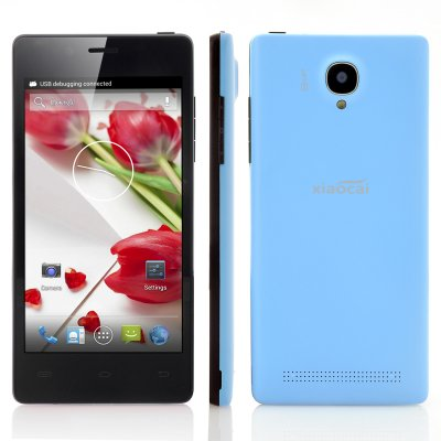 XiaoCai X9S 4 Core Android 4.2 Phone (Blue)