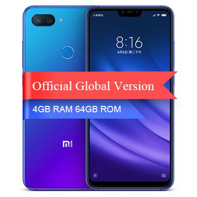 Xiaomi Mi 8 Lite Unlocked 4+64G 24MP Blue