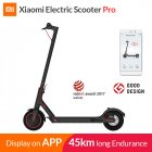 Xiaomi PRO Electric Kick Scooter for Adults Teens Fodable and Portable Design Max 25Km H Speed 100Kg Payload black