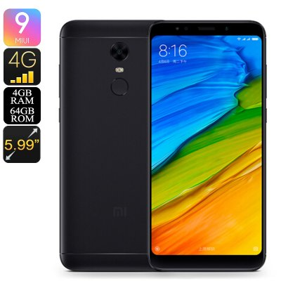 Xiaomi Redmi 5 Plus Smartphone (Black)