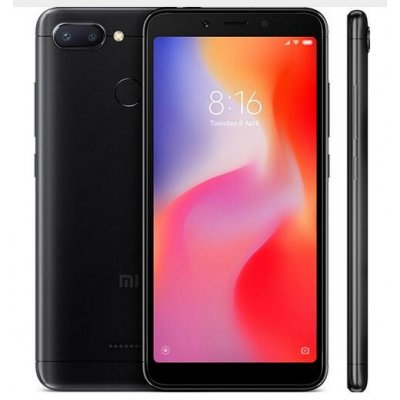 Xiaomi Redmi 6 4+64GB Smart Phone Black