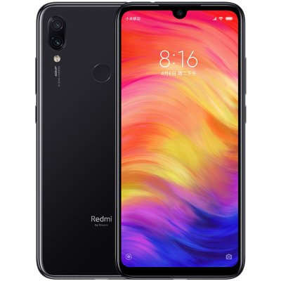 Xiaomi Redmi Note 7 4GB 64GB Snapdragon 660 Octa Core 48MP Camera 6 3''  Water Drop FHD Screen Mobile Phone Black