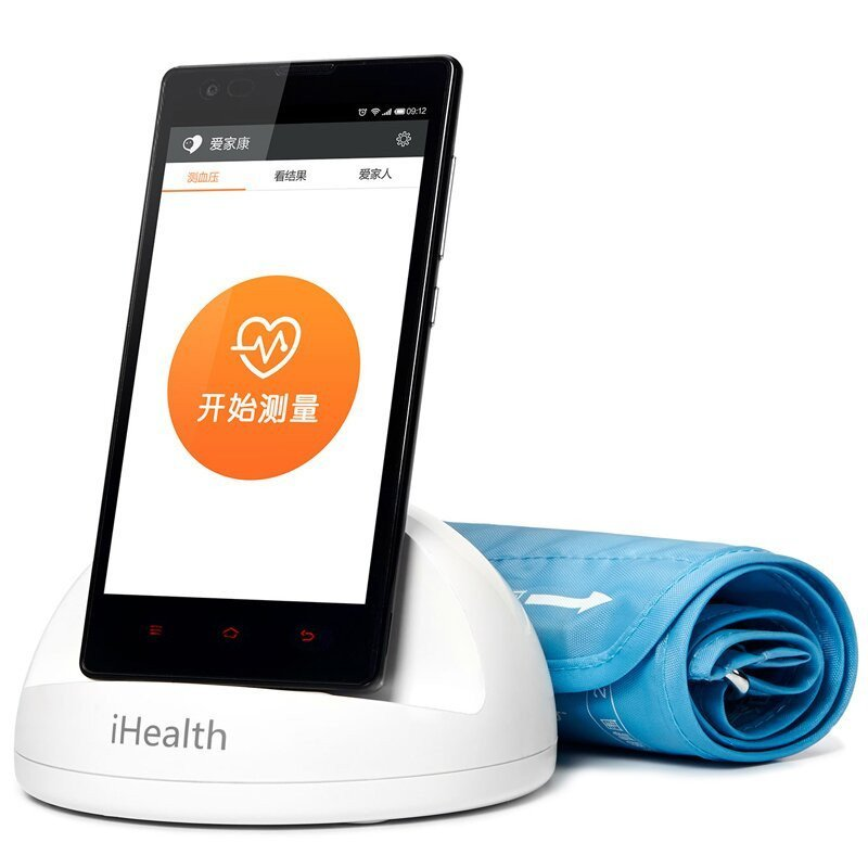 Home Appliance Parts Xiaomi Mijia Ihealth Smart Blood Pressure Meters Dock Monitoring System For Xiaomi Mi Home App To Smart Phones Bluetooth Version Personal Care Appliance Parts