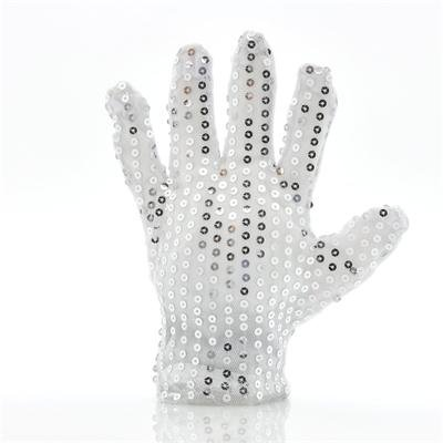Color Changing LED Gloves with Glitters
