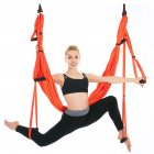 Yoga Swing Set Yoga Sling Inversion Tool for Professional Beginners Orange (standard with single hammock)