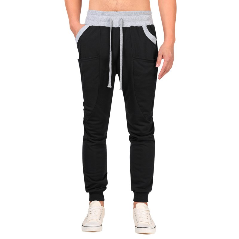 Yong Horse Men's Casual Loose Jogger Pants