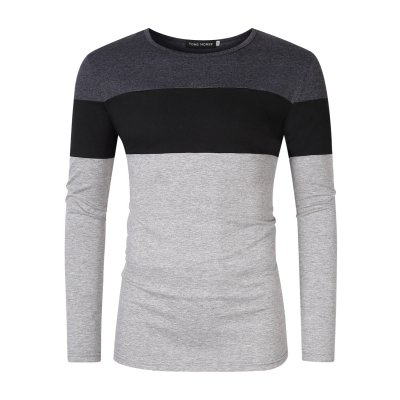 Yong Horse Slim Fit Long Sleeve Basic TShirt