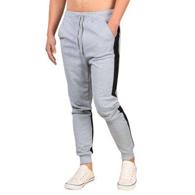 Yong Horse Men's Color Block Jogger Pants Elastic Waist Sweatpants5Z4Z
