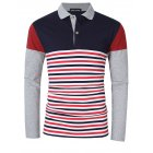Yong Horse Slim Fit Long Sleeve Polo Shirt