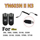 Yongnuo RF-603N II Wireless Remote Flash Trigger for Nikon D90 D600 D3000 D5000 D7000 N3