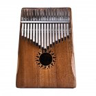17 Key Kalimba Solid Mahogany Finger Keyboard