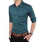 Men Button-Down Dress Shirt