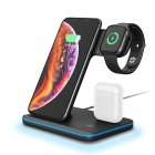 Z5 Split 3 in 1 Fast Wireless Charger black