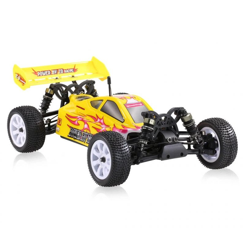 ZD Racing  9102 10421 - S 1/10 Off-road RC 4WD Brush-less Vehicle Children Simulation Car yellow