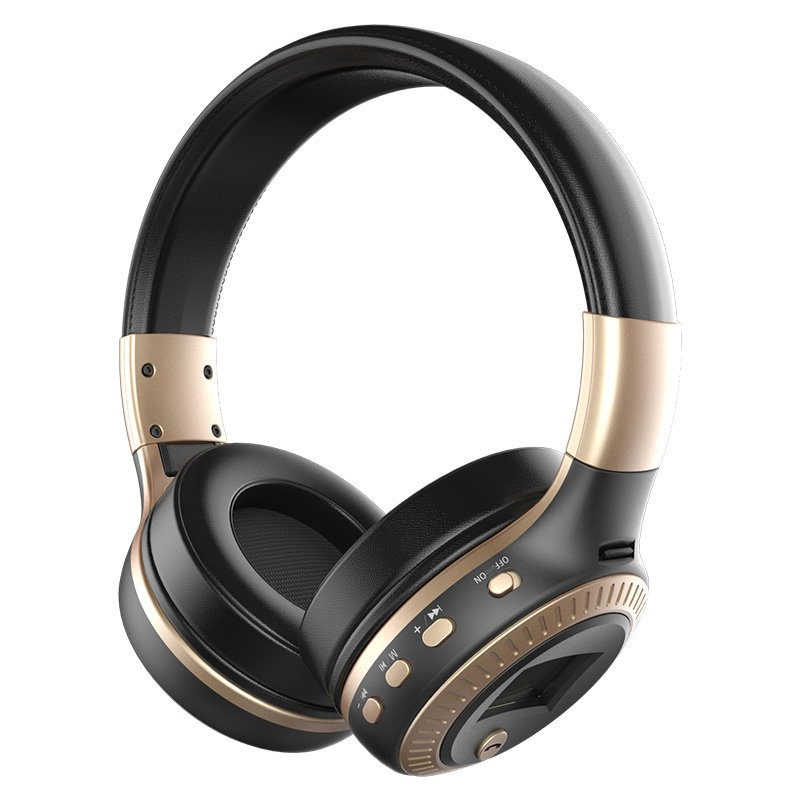ZEALOT B19 Bluetooth Headphones - Black Gold