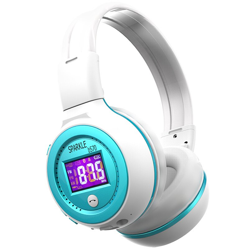 ZEALOT B570 HiFi Stereo Headphone Blue