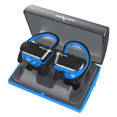 ZEALOT H10 TWS Wireless Earbuds Black blue
