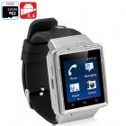 ZGPAX S6 Android 4 4 Phone Watch with Dual Core CPU  512MB RAM  2G   3G cellular Connectivity and micro SD Card Slot