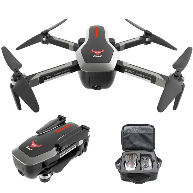 ZLRC Beast SG906 5G Wifi GPS FPV Drone with 4K Camera and Handbag 2 batteries