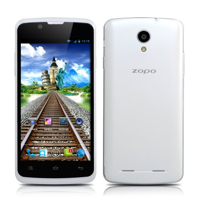 ZOPO ZP580 Dual Core Phone (White)