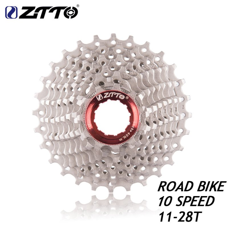 ZTTO 10s Cassette 11-28 T Freewheel Bicycle Parts 10s Flywheel for Road Bike 10s 11-28t