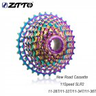 ZTTO 11 Speed 28T 32T 34T 36T Road Bike Cassette Ultralight Bicycle Freewheel Colourful Bicycle Flywheel 11 speed 28T