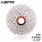 ZTTO 8 Speed 11-32T MTB Bicycle Cassette Mountain Bike Steel 8s 8v K7 Freewheel Flywheel Bicycle Parts  8S 11-32T