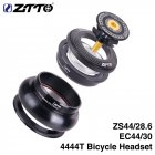 ZTTO ZS44 MTB Bike Bicycle Headset CNC 4444T Tapered Tube Fork Internal Threadless Bearing Set ZS44