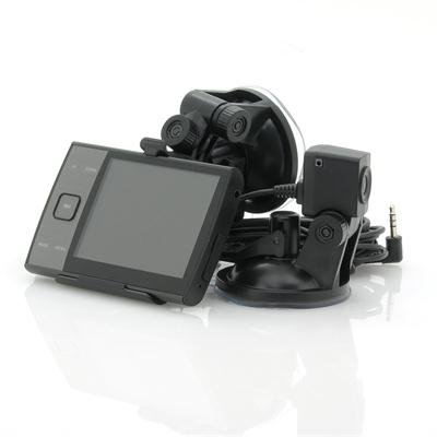 HD Car DVR w/ x2 Camera + PIP - Duo-View