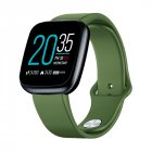 Zeblaze Crystal 3 Smartwatch WR IP67 Heart Rate Blood Pressure Long Battery Life IPS Color Display Smart Watch Pine green