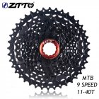 Ztto MTB Mountain Bike Bicycle Parts 9s Speed Freewheel Cassette 11 40t Wide Ratio 9S 11 40T